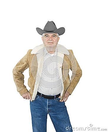 Serious Senior Cowboy