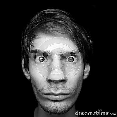 Free Serious Stare Stock Photo - 16605070