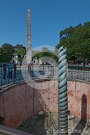 Serpent Column and Obelisk of Theodosius