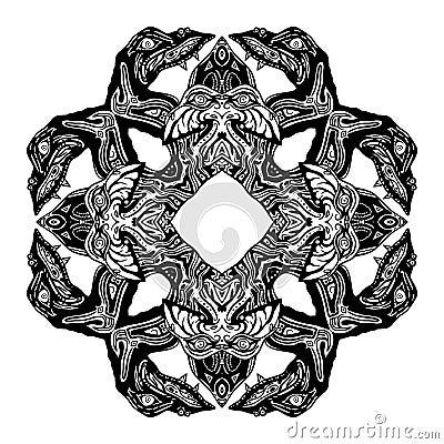 Serpent Glyph Symbol