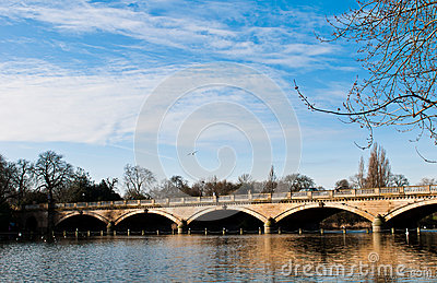 Serpentine Bridge and Lake