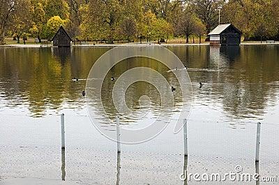 The Serpentine, Hyde Park, London