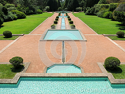 Serralves Park in Porto Editorial Stock Image