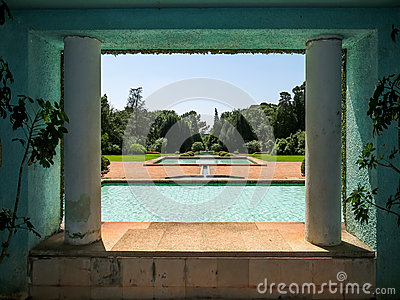 Serralves Park in Porto Editorial Photo