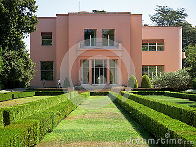 Serralves Villa in Porto Editorial Stock Photo