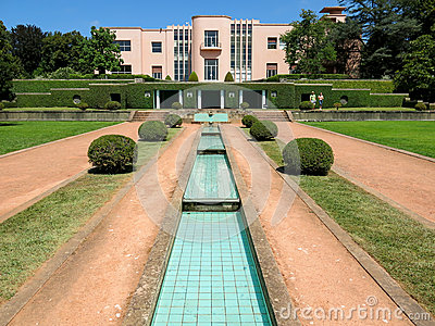 Serralves Villa in Porto Editorial Photo