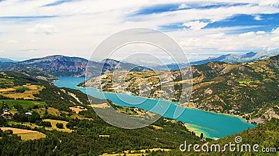 Serre-Poncon lake