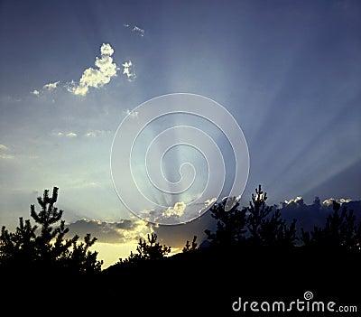 Serre-Poncon Sunrise