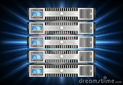Server in cyberspace