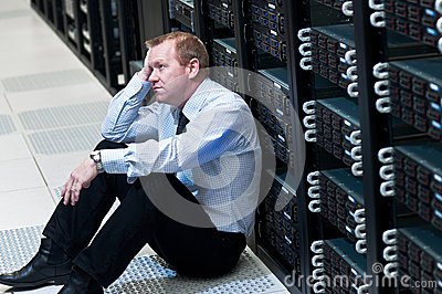 Server Failure Stock Photo - Image: 26188790