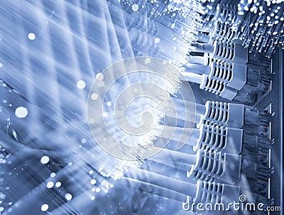 Server and Fiber optics