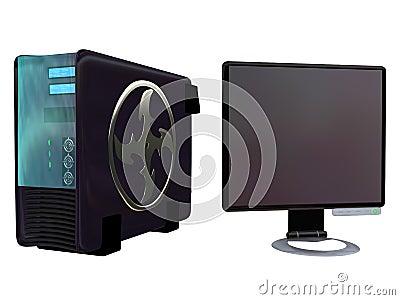 Server Lcd Monitor vol 3