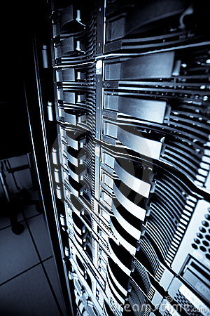 Free Server Rack Stock Images - 12541354