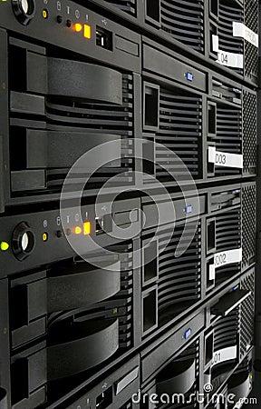 Free Server Rack Royalty Free Stock Photos - 603038