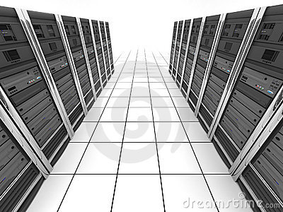 Server-room (view top)