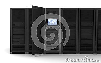 Server row