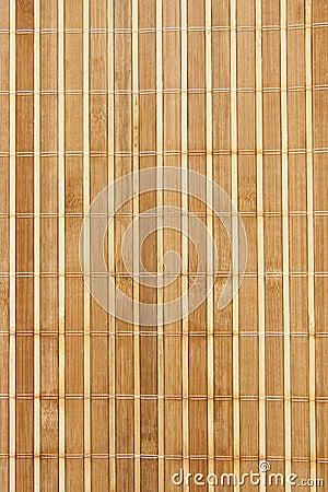 Servet van een bamboe