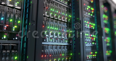 serveur Rendu de calcul du stockage de données 3d de nuage
