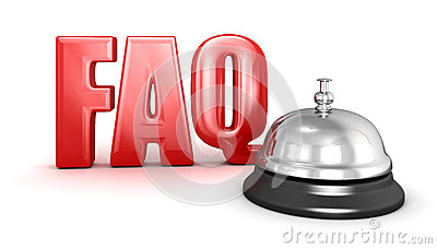 Service bell and FAQ