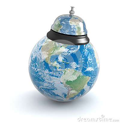 Service bell and globe