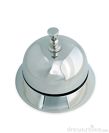 Service bell isolated