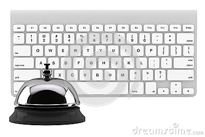 Service Bell ring with keyboard