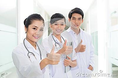 Service de santé réussi