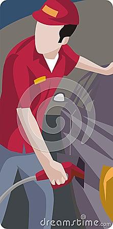Free Service Illustration Series Royalty Free Stock Image - 2106766