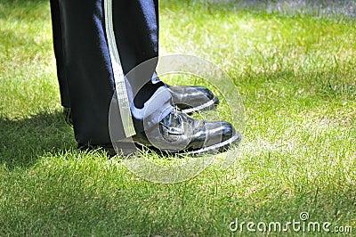 Serviceman s shoes