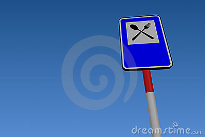 Services Road Traffic Sign