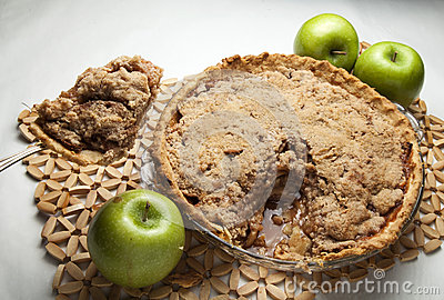Serving Apple Pie