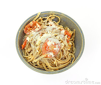 Serving Tomatoes Onions Pasta