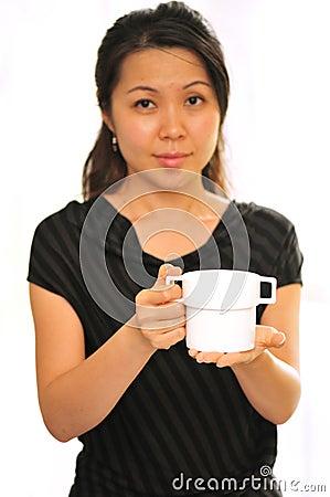 Serving you tea