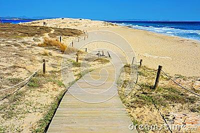 Ses Illetes Beach in Formentera, Balearic Islands