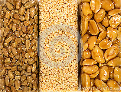 Sesame Seed Brittle background