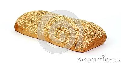 Sesame seed Italian bread loaf