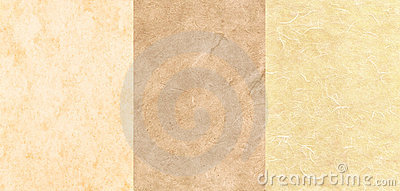 Set of 3 Parchment Textures