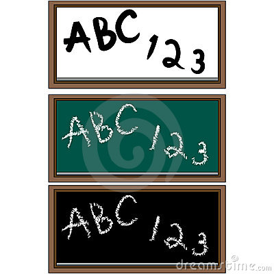 Set of 3 School Boards