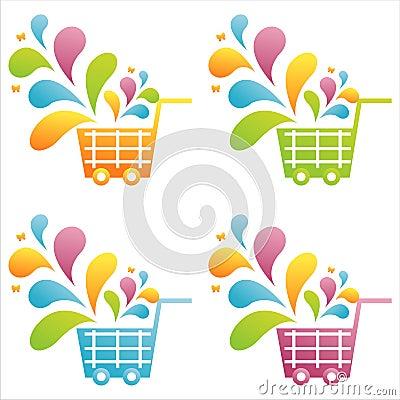 Set of 4 baskets