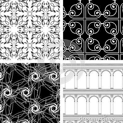 Set of 4 textures