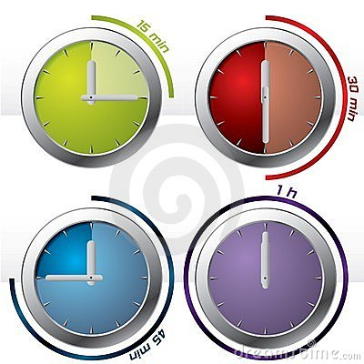 Set of 4 timers