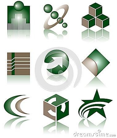 Set of 9 Logos