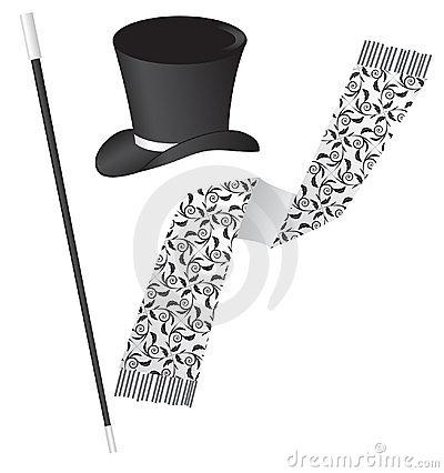 A set of accessories for a gentleman