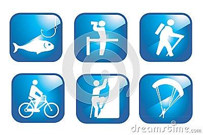 Set adventure icons