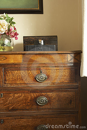 Set Of Antique Drawers