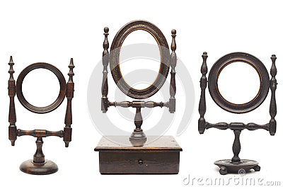 Set of antique mirrors