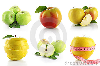 Set of apple
