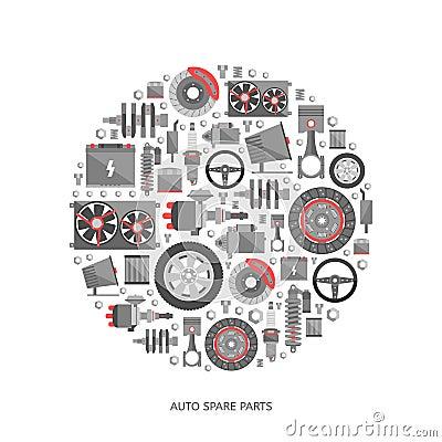 Engine Piston Logo