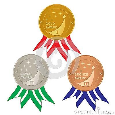 Set of awards