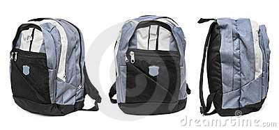 Set of backpack